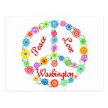Amor Washington de la paz Postales