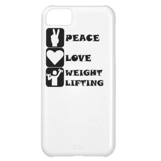 Amor Weightlifing de la paz