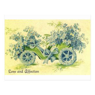 Amor y afecto tarjeta postal