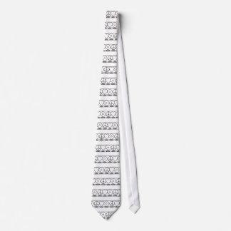 Amor y anillos de espuma de la paz corbatas personalizadas