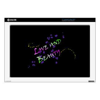 Amor y belleza portátil 43,2cm skins