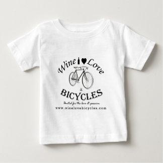 Amor y bicicletas del vino tshirts