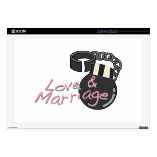 Amor y boda 43,2cm portátil calcomanía