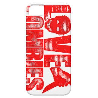 Amor y caja del abrigo de Slasher de los zombis Funda Para iPhone SE/5/5s