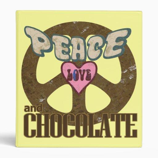 """Amor y chocolate de la paz carpeta 1"""""""