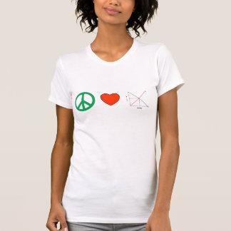 Amor y economía de la paz poleras