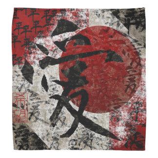 Amor y esperanza #1 de la paz bandana
