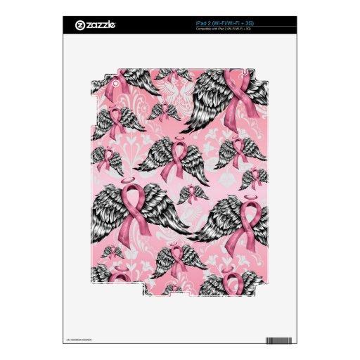 Amor y esperanza de la paz del cáncer de pecho skins para iPad 2