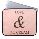 Amor y helado mangas computadora