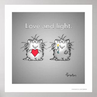 Amor y luz de Sandra Boynton Póster