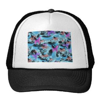 Amor y mariposas gorras