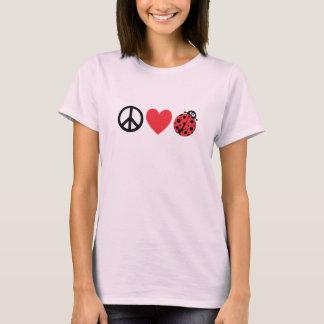 Amor y mariquitas de la paz playera
