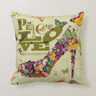 Amor y moda, xo PJ. de la paz Almohada