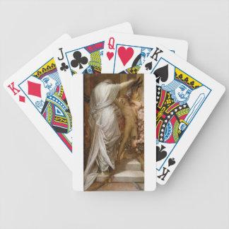 Amor y muerte por los vatios de George Frederick Baraja Cartas De Poker
