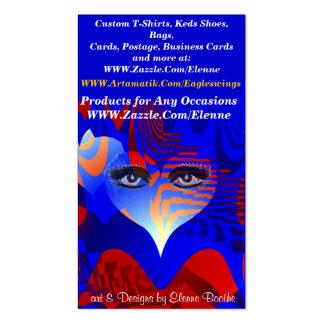 Amor y Music_ Tarjetas De Visita