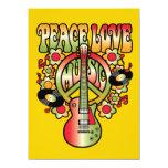 Amor y música de la paz comunicados