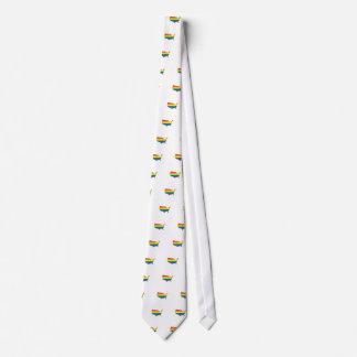 Amor y orgullo corbatas personalizadas