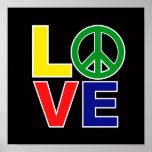 amor y paz impresiones