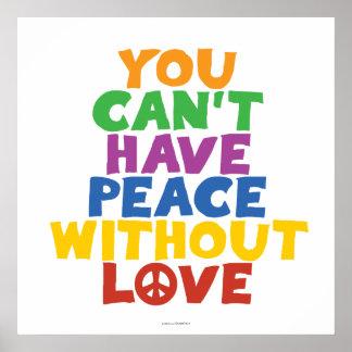 Amor y paz poster