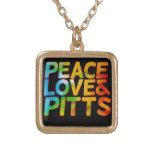 Amor y pitts de la paz colgante
