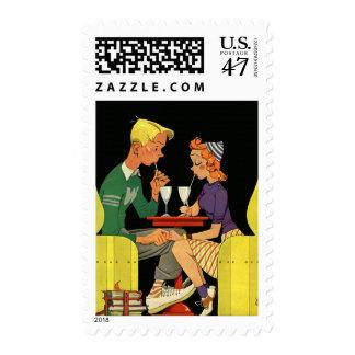 Amor y romance, adolescencias del vintage en la sellos