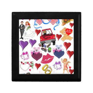 Amor y romance cajas de regalo