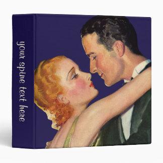 """Amor y romance, Hollywood romántico del vintage Carpeta 1 1/2"""""""