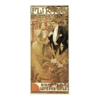 Amor y romance, ligón del Victorian del vintage Anuncio