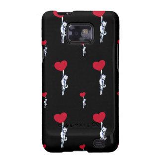 Amor y samoyedos toda la necesidad de U Samsung Galaxy SII Funda