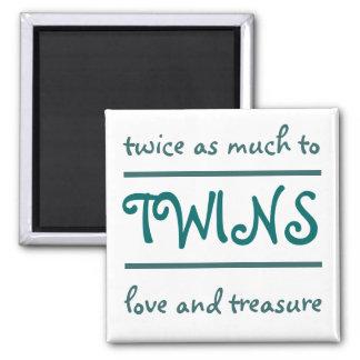 Amor y tesoro iman