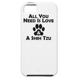 Amor y un Shih Tzu iPhone 5 Case-Mate Cárcasa