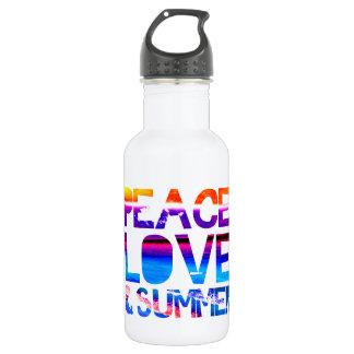 Amor y verano de la paz
