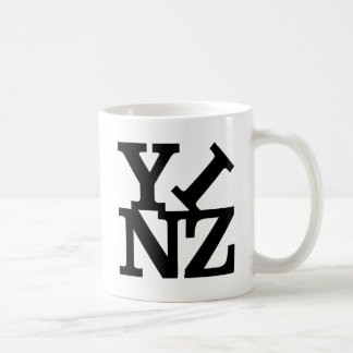 Amor Yinz Taza Básica Blanca