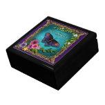 Amore (caja de regalo de la versión de la mariposa joyero cuadrado grande