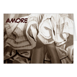 AMORE/LA GAMA BELLA--LOVE AND YOUR LEGS BEAUTIFUL CARD