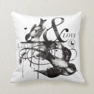 amore&love pillow cojines