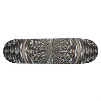 Amore Plated Stainless Steel Skateboard
