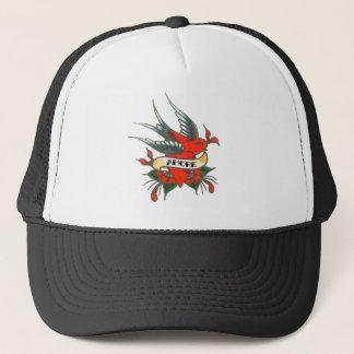 Amore Tattoo Bird Trucker Hat