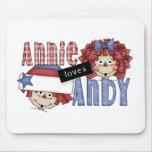 Amores Andy Ragdoll de Annie Tapete De Ratón