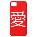 Amores Chino, Chino escritura iPhone 5 Case-Mate Carcasa