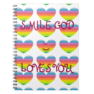 AMORES de DIOS de la SONRISA USTED cuaderno