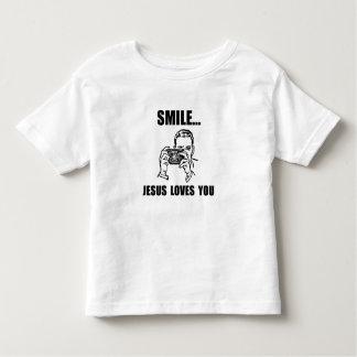 Amores de Jesús de la sonrisa usted Remeras