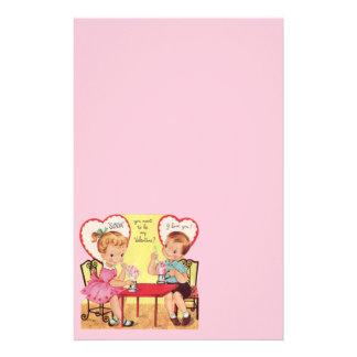 Amores de la tarjeta del día de San Valentín de la Papeleria De Diseño