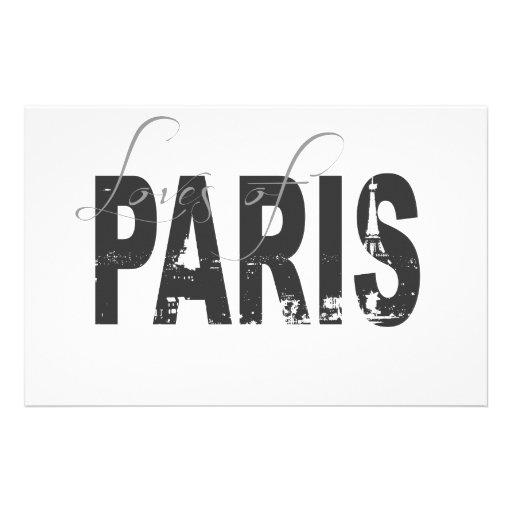 Amores de París Papelería Personalizada