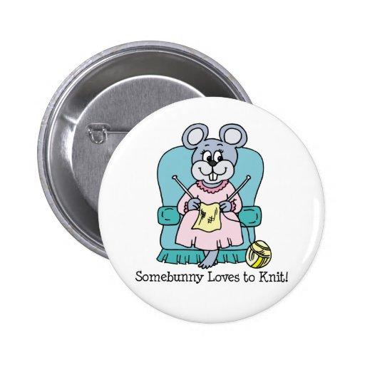 Amores de Somebunny para hacer punto el botón