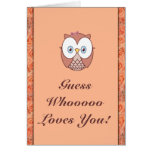 ¡Amores de Whoooo de la conjetura usted! Felicitación