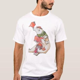 Amores del oso polar para leer la camiseta