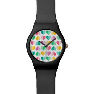 Amores en pasteles multi relojes de mano