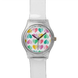 Amores en pasteles multi reloj