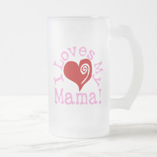 Amores I mi mamá Taza De Cristal